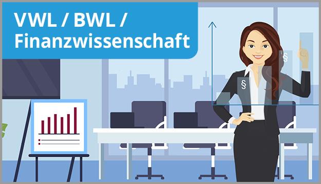 Button VWL / BWL / Finanzwissenschaft