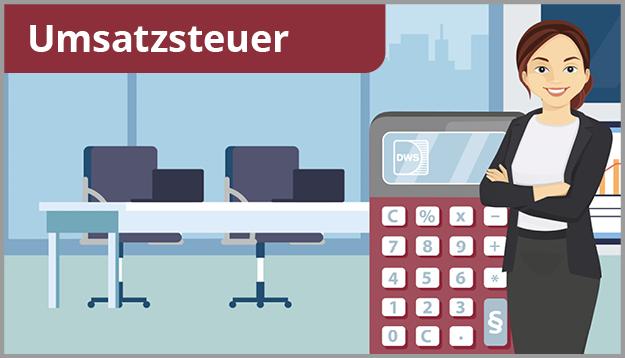 Button DWS Umsatzsteuer